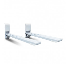 Suporte De Parede Com Braco Ajustável Para Forno Microondas - Brasforma SBR3.8 Branco