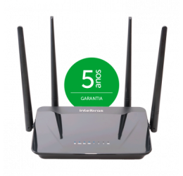 Roteador Wireless Smart Dual Band 300Mbps IPv6 - Intelbras Action R1200