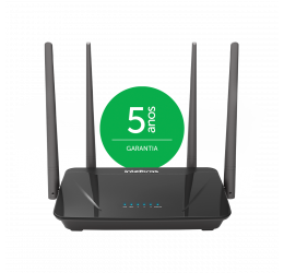Roteador Wireless Dual Band AC 1200 Portas Fast - Intelbras Action RF 1200