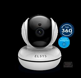 Câmera Wifi Interna Rotacional 1080P 2MP IR 10M MicroSD Onvif ESC-WR3F - Elsys