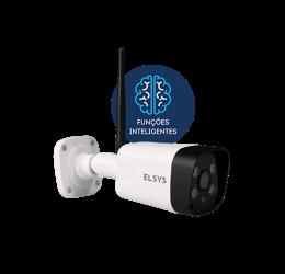 Câmera Wifi Externa Full HD 2MP IR 30m MicroSd Onvif ESC-WB3F - Elsys