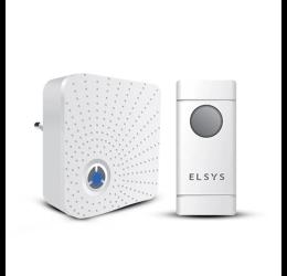 Campainha Sem Fio Com 1 Receptor ESA-CS101 - Elsys
