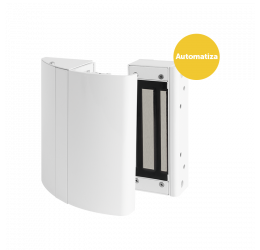 Fechadura Eletroímã 12V Kit Branco (Kit Elite Automatiza) – Intelbras Fs 150 C/ Sensor