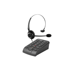Telefone Headset Com Base Discadora - Intelbras HSB 50