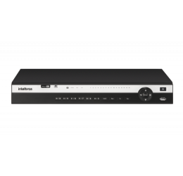 DVR MULTI HD 16 CANAIS + 8 IP H265+ 4K - INTELBRAS MHDX 5216