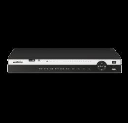 DVR MULTI HD 16 CANAIS + 8 IP H265+ 4K - INTELBRAS MHDX 5216 C/ HD 2TB WD PURPLE