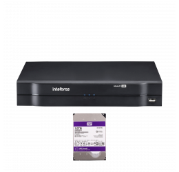 DVR MULTI HD 16 CANAIS HD 720P H265 - INTELBRAS MHDX 1116 C/ HD 10TB WD PURPLE