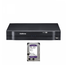 DVR MULTI HD 16 CANAIS HD 720P H265 - INTELBRAS MHDX 1116 C/ HD 6TB WD PURPLE