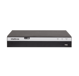 DVR MULTI HD 4 CANAIS FULL HD 1080P 4MP H265 - INTELBRAS MHDX 3104