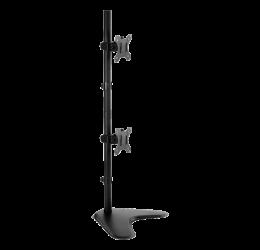 "Suporte Vertical Articulado Para 2 Monitores De 13"" A 32"" - Brasforma Sbrm 722"