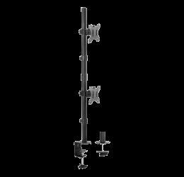 "Suporte Articulado Para 2 Monitores De 13"" A 27"" - Brasforma SBRM725"
