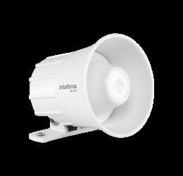 Sirene Corneta Com Fio Para Alarme 105Db - Intelbras SIR 1000 Branca