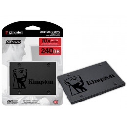"SSD 2,5"" SATA III 240GB A400 SA400S37/240G - KINGSTON"