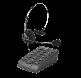 TELEFONE HEADSET COM FIO PARA TELEMARKETING - INTELBRAS HSB 40
