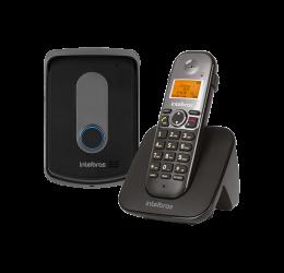 Telefone Porteiro Sem Fio Com Ramal Externo - Intelbras TIS 5010