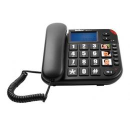 TELEFONE COM FIO E IDENTIFICADOR - INTELBRAS TOK FÁCIL ID