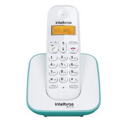 TELEFONE SEM FIO COM IDENTIFICADOR DE CHAMADAS - INTELBRAS TS 3110 BRANCO/AZUL CLARO