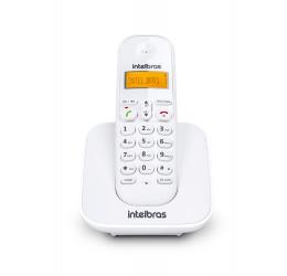 Telefone Sem Fio Com Identificador De Chamadas - Intelbras TS 3110 Branco