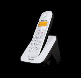 Telefone Sem Fio Com Identificador De Chamadas - Intelbras Ts 3110 Branco/Preto
