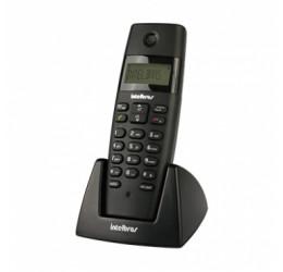 TELEFONE SEM FIO (RAMAL) COM IDENTIFICADOR DE CHAMADAS - INTELBRAS TS 40 R PRETO