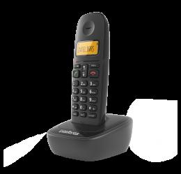 Telefone Sem Fio Com Identificador De Chamadas - Intelbras Ts 2510 Preto