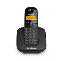 Telefone Sem Fio Com Identificador De Chamadas - Intelbras TS 3110 Preto