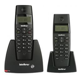Telefone Sem Fio Com Identificador De Chamadas + 1 Ramal Adicional - Intelbras TS 40 C