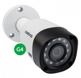 CAMERA MULTIHD BULLET 20M 2,6MM HD 720P - INTELBRAS VHD 3120 B G4