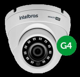 Câmera Multihd Dome 20M 2,6mm Hd 720P - Intelbras VHD 3120 D G4