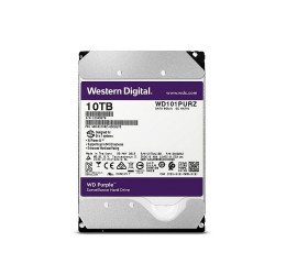 HD INTERNO WD PURPLE 10TB SATA 6GBPS 256MB - WESTERN DIGITAL WD101PURZ