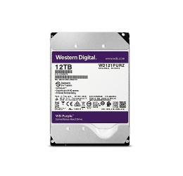 HD INTERNO WD PURPLE 12TB SATA 6GBPS 256MB - WESTERN DIGITAL WD121PURZ