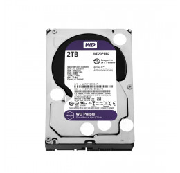 HD INTERNO WD PURPLE 2TB SATA 6GBPS 64MB - WESTERN DIGITAL WD20PURZ