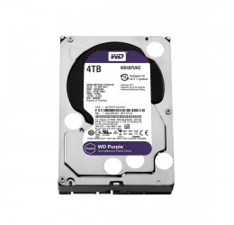 HD Interno WD Purple 4TB Sata 6Gbps 64MB - Western Digital WD40PURZ