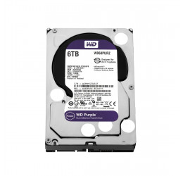 HD Interno WD Purple 6TB Sata 6Gbps 64MB - Western Digital WD60PURZ