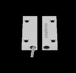 Sensor De Abertura Magnético Com Fio Para Uso Externo - Intelbras Xas Porta De Aço Mini