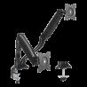 "Suporte Articulado Para 2 Monitores De 13"" A 27"" - Brasforma Sbrm 724"