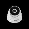 Oferece imagens em HD, 20 metros de alcance IR, ângulo de abertura de 98° para garantir monitoramento amplo e de qualidade.